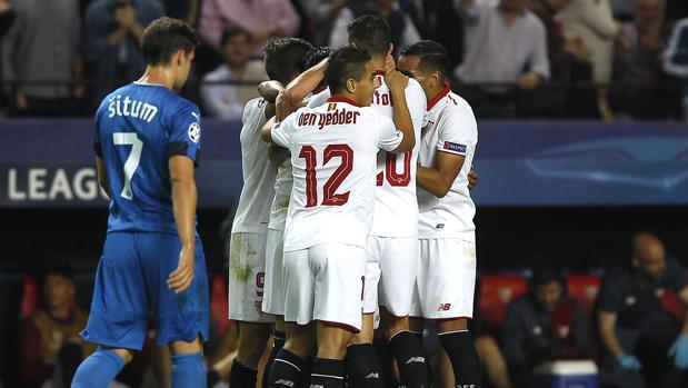 Resultado Sevilla-Dinamo Zagreb:  Fiesta grande en Sevilla