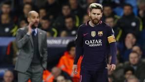 El enfado de Messi lo provocó el asistente de Guardiola