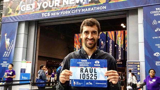 Raúl se atreve con el maratón de Nueva York