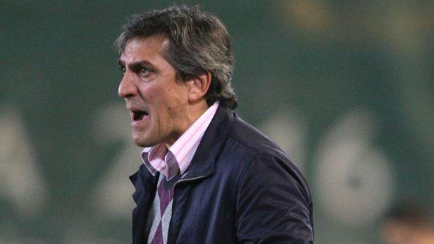 Pepe Murcia, cuando era entrenador del Celta