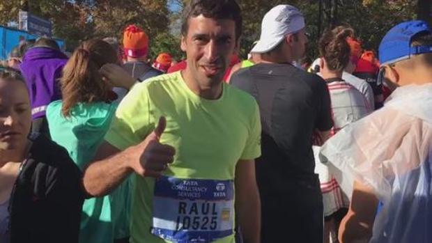 Raúl acaba el maratón de Nueva York en 3:26:05
