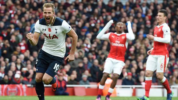 Arsenal-Tottenham:  Kane evita el liderato del Arsenal