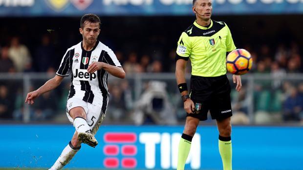 Chievo-Juventus:  La Juventus no afloja gracias a un genial gol de Pjanic