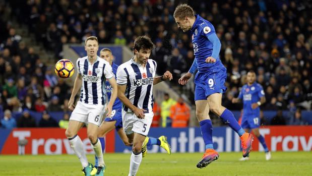 Leicester-West Brom:  El Leicester se arrima al descenso