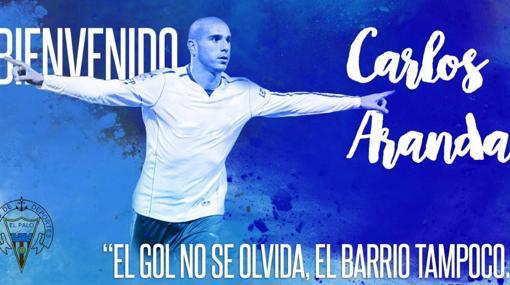 Bienvenida de El Palo a Carlos Aranda