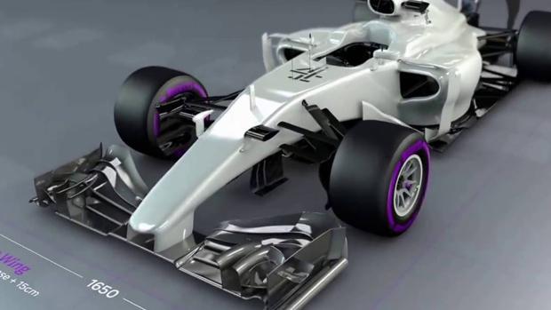 Así será el aspecto de los Fórmula 1 en 2017