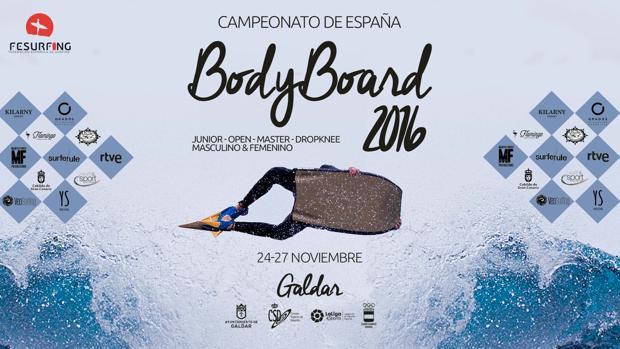 El Campeonato de España de Bodyboard, en Galdar