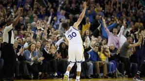 Recital de Curry para un nuevo récord de la NBA