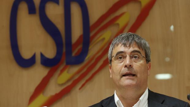 Miguel cardenal, ya ex secretario de Estado para el Deporte