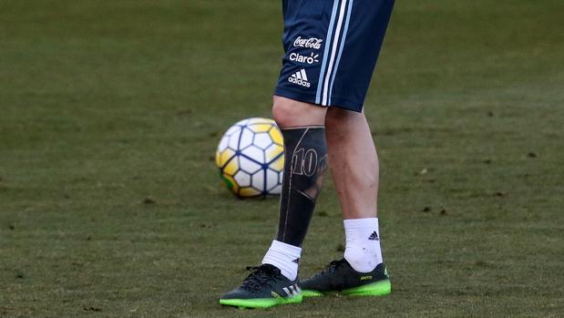 La «nueva» zurda de Leo Messi