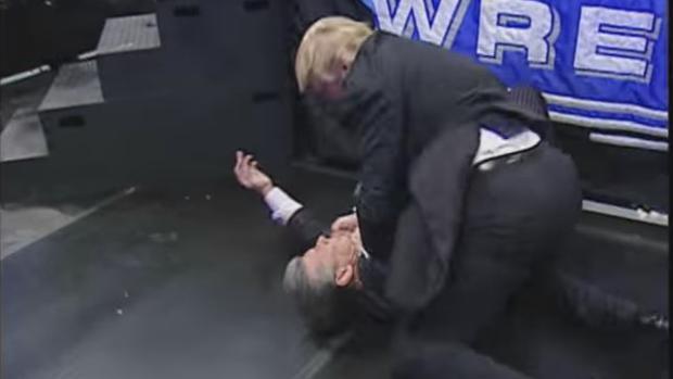 Cuando Donald Trump se convirtió en una estrella de la lucha libre