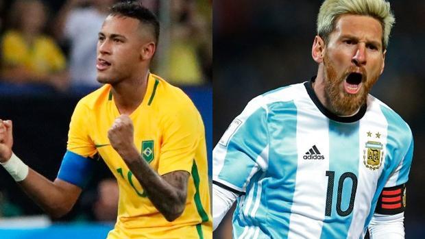 Dónde ver el Brasil-Argentina