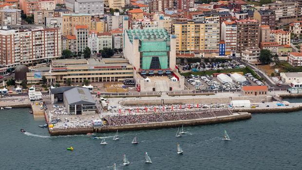 La final de la Sailing World Cup 2017, en Santander