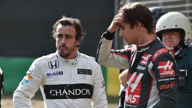Esteban Gutiérrez deja su asiento en la escudería Haas