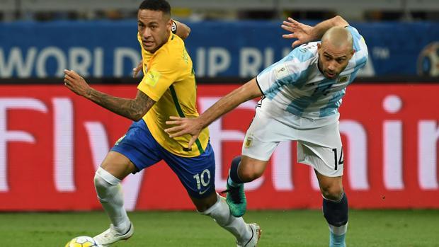 El toque de atención de Mascherano a Neymar