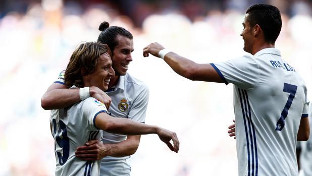Modric, Bale y Ronaldo, tres de los renovados por el Real Madrid