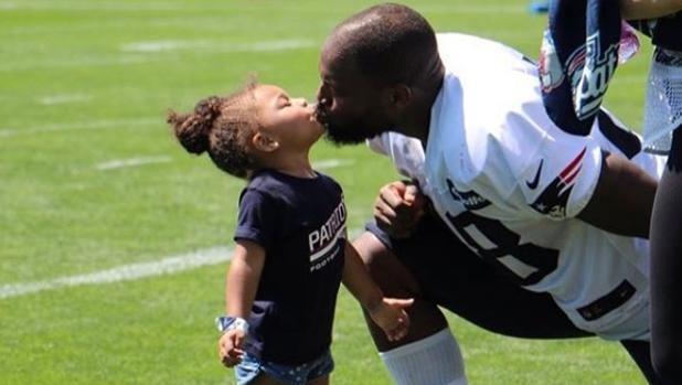 NFL:  La maravillosa carta de Martellus Bennett a su hija tras la victoria de Donald Trump
