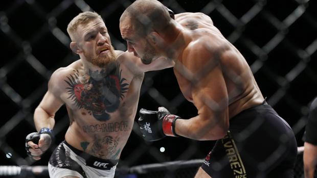 UFC:  Así fue el descomunal K.O. de McGregor a Eddie Álvarez