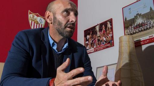 Monchi, durante la entrevista con ABC