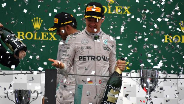 Fórmula 1:  Rosberg será campeón si es segundo o tercero en Abu Dabi