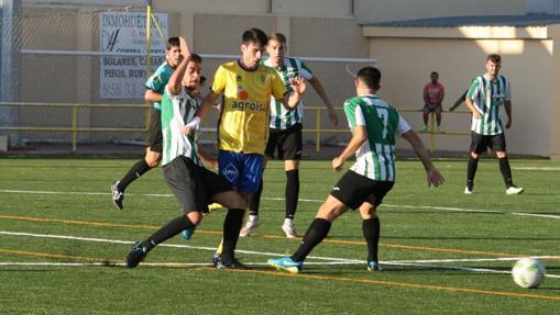El Antequera, otro de los clubes que permanece invicto