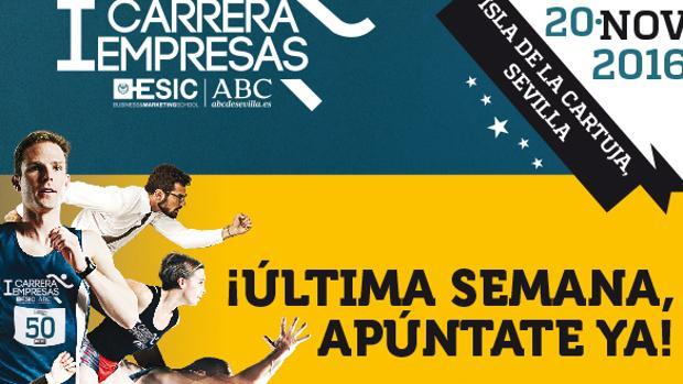 Últimos días para apuntarse a la I Carrera ESIC-ABC de Sevilla