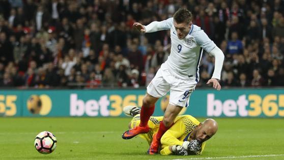 La acción del penalti que ha supuesto el 1-0