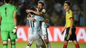 Messi salva a Argentina con un gol y dos asistencias que condenan a Colombia