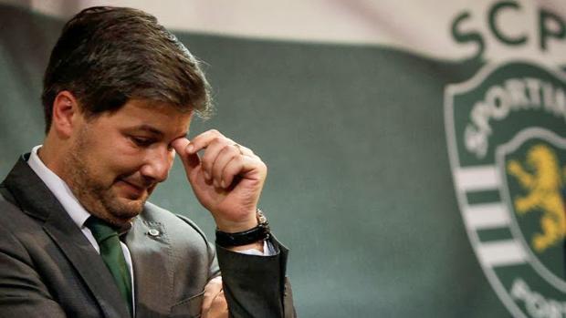 El presidente del Sporting de Lisboa escupe al del Arouca en vísperas del duelo con el Real Madrid