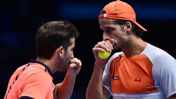 Marc López y Feliciano siguen vivos en el Masters