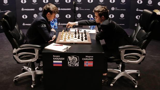 Mundial de Ajedrez:  La quinta partida entre Carlsen y Karjakin, en directo