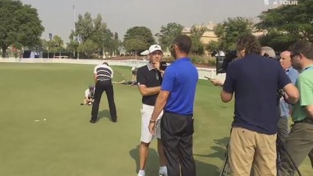 El descomunal «Mannequin challenge» del circuito mundial de Golf