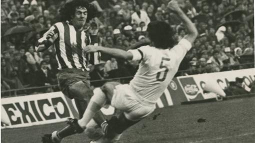 Rubén Cano en la goleada ante el Madrid