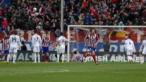 Partido en el que el Atlético rompió su mala racha