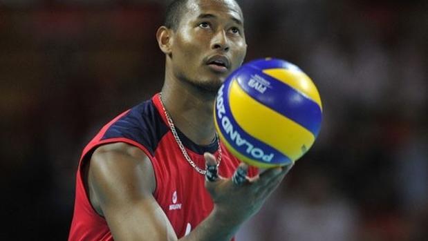 Kervin Piñerúa, capitán de la selección venezolana de voleibol