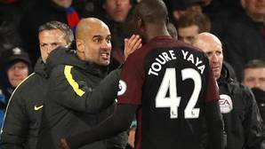 Yaya Toure rescata al City de Guardiola