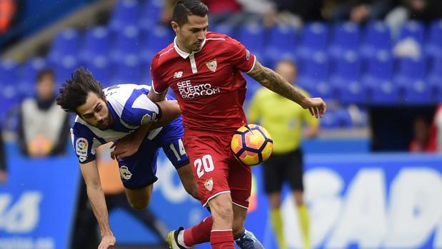 Vitolo rescata al Sevilla