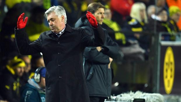 Ancelotti, ante el Dortmund