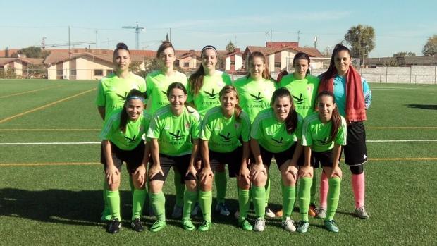 Formación del CF Femenino Cáceres