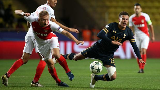 Resultado Mónaco-Tottenham:  El Mónaco será primero y complica al Tottenham