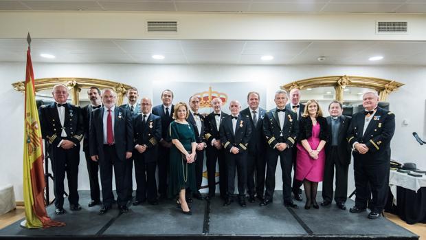 Entrega de recompensas marítimas de la Real Liga Naval
