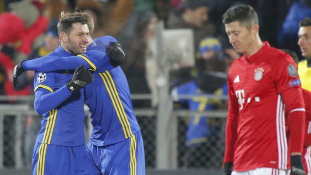 Machada del Rostov ante el Bayern de Ancelotti