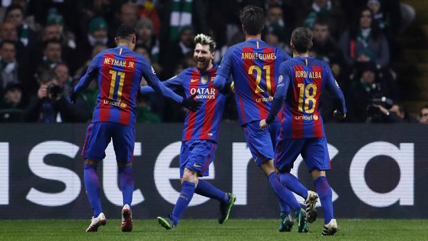 Messi dicta en Glasgow otra lección magistral