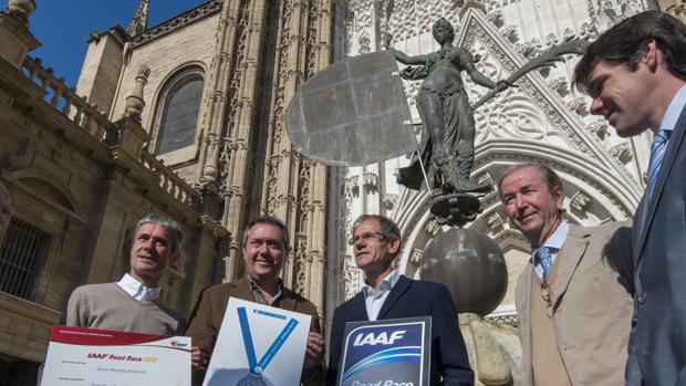 Presentación de la Zurich Maratón de Sevilla