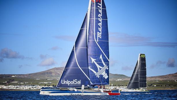 """""""Maserati"""" lidera la flota de la RORC Transatlantic Race"""