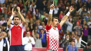 Croacia acaricia la Davis