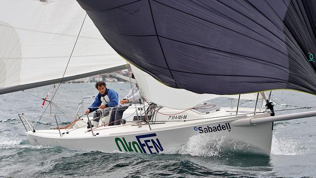 Triunfo de Javier de la Gándara en el Trofeo Banco Sabadell Clase J80