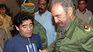 Fidel Castro, el amigo íntimo de Maradona que le sacó del mundo de la droga