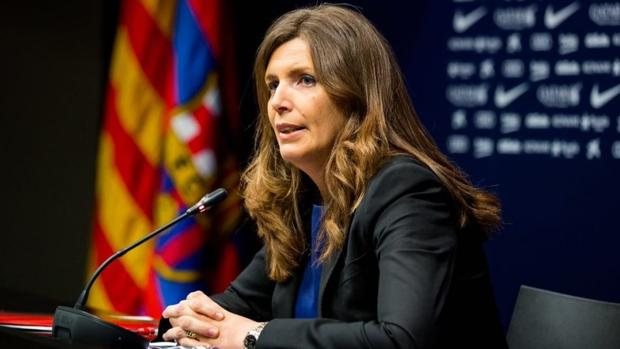 Susana Monje, hasta ahora vicepresidenta económica del Barcelona