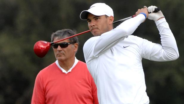 Nadal, maestro del golf